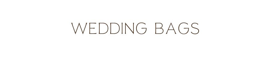 Bag matrimonio chiesa | Wedding bag particolari