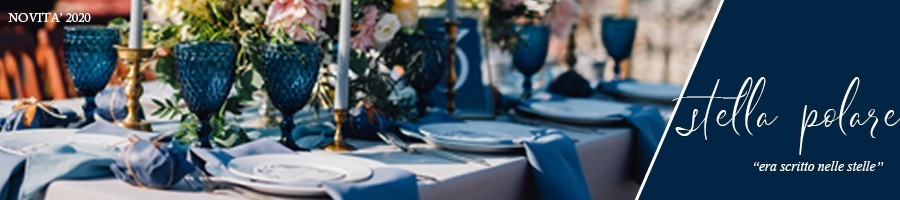 Matrimonio tema stelle | Tableau matrimonio bianco e blu
